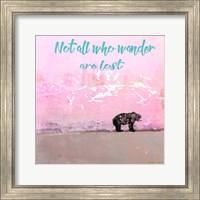 Not all who wander Fine-Art Print