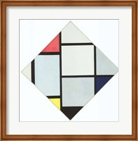 Composition II in Red, Blue and Yellow Fine-Art Print