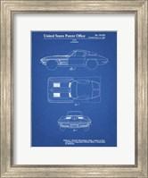 Blueprint 1962 Corvette Stingray Patent Fine-Art Print