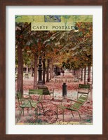 Autumn Tuileries Fine-Art Print