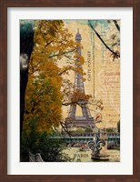 Eiffel in October Fine-Art Print