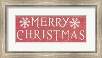 Christmas Affinity III Red Fine-Art Print