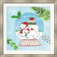 Snow Globe Animals II Fine-Art Print