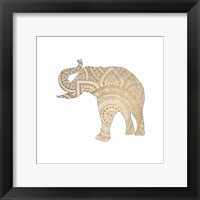 Elephant Gold 1 Fine-Art Print