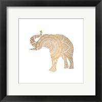 Elephant Gold 3 Fine-Art Print