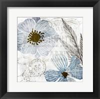 Soft Floral Blue 2 Fine-Art Print