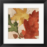 Fall Leaves Square 2 Fine-Art Print