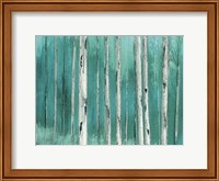 Blue Birch Forest 2 Fine-Art Print