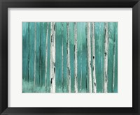 Blue Birch Forest 2 Fine-Art Print