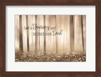 Take a Journey and Discover Your Soul Fine-Art Print