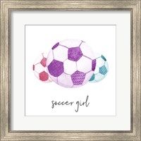 Sports Girl Soccer Fine-Art Print