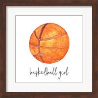 Sports Girl Basketball Fine-Art Print
