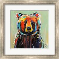 Painted Black Bear Fine-Art Print