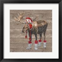 Warm in the Wilderness Moose Fine-Art Print