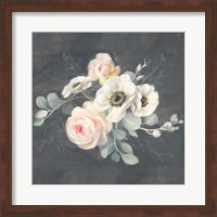Roses and Anemones Square Fine-Art Print