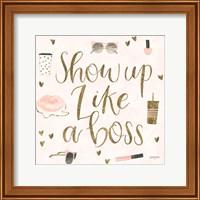 Boss Ladies VII Pink Fine-Art Print