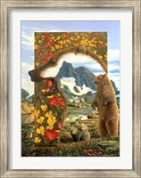 Bearly Where Bearly There Fine-Art Print