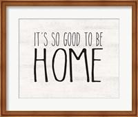 Good to be Home Fine-Art Print