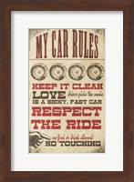 My Car Rules Fine-Art Print
