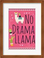 No Drama Llama Fine-Art Print