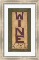 Wine and Spirits Fine-Art Print