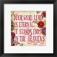 Delecor Psalm I Fine-Art Print