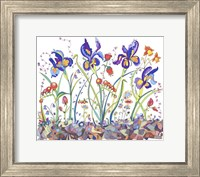 Cooper-Whimsical Flowers Fine-Art Print