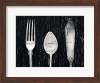 Antique Knife Fork and Spoon Fine-Art Print