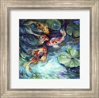 Dancing Colors Koi Fine-Art Print