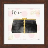 Fashion Blooms II Black Fine-Art Print