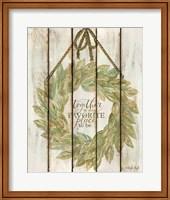 Together Wreath Fine-Art Print