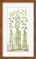 Simple Leaves in Jar II Fine-Art Print