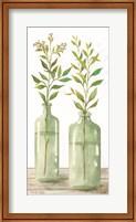 Simple Leaves in Jar III Fine-Art Print