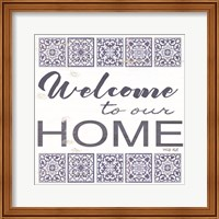 Welcome to Our Home Tile Fine-Art Print