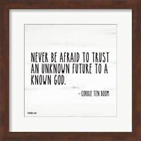Never be Afraid Fine-Art Print