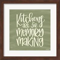 Kitchens - Making Memories Fine-Art Print
