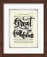 Great is Thy Faithfulness Fine-Art Print