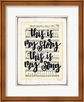 My Story, My Song Fine-Art Print
