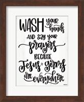 Jesus & Germs Fine-Art Print