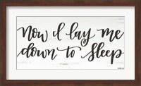Now I Lay Me Down to Sleep Fine-Art Print