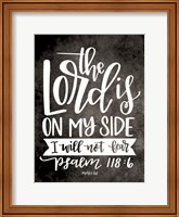 The Lord is On My Side Fine-Art Print