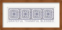 Grateful, Thankful, Blessed Fine-Art Print