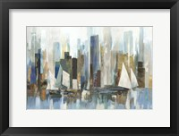 Boats by the Shoreline Fine-Art Print