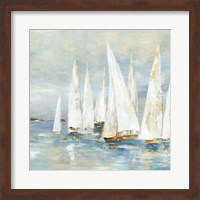 White Sailboats Fine-Art Print