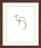 The Camel - Embossed Fine-Art Print