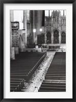 Church Aisle Fine-Art Print