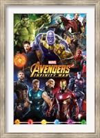 Avengers Infinity War (group) Wall Poster