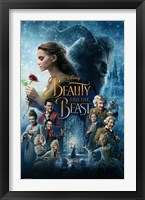 Beauty and the Beast Wall Poster
