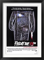 Friday the 13th Wall Poster