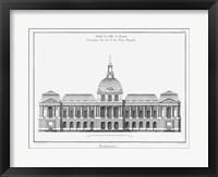 Architectural Elevation III Fine-Art Print